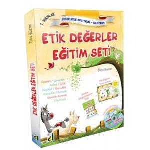 1. S�n�f Etik De�erler E�itim Seti - 10 Kitap Damla Yay�nlar�