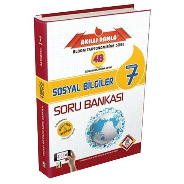 7. Sınıf 4B Sosyal Bilgiler Soru Bankası Damla Yayınları