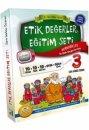 3. S�n�f Etik De�erler E�itim Seti - 10 Kitap Damla Yay�nlar�