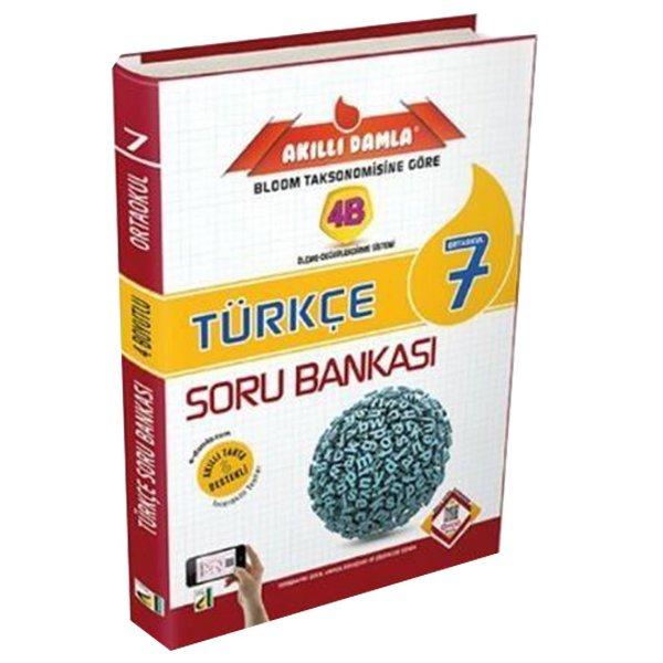 7. Sınıf 4B Türkçe Soru Bankası Damla Yayınları