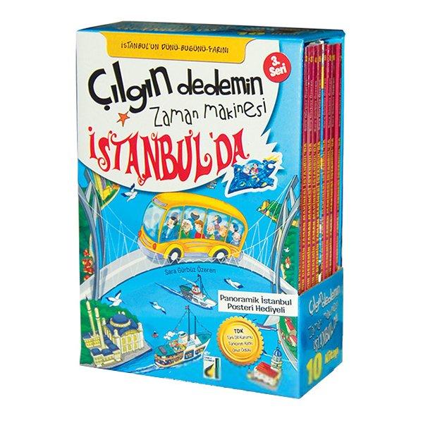 Çılgın Dedemin Zaman Makinesi İstanbulda - 10 Kitap Damla Yayınevi