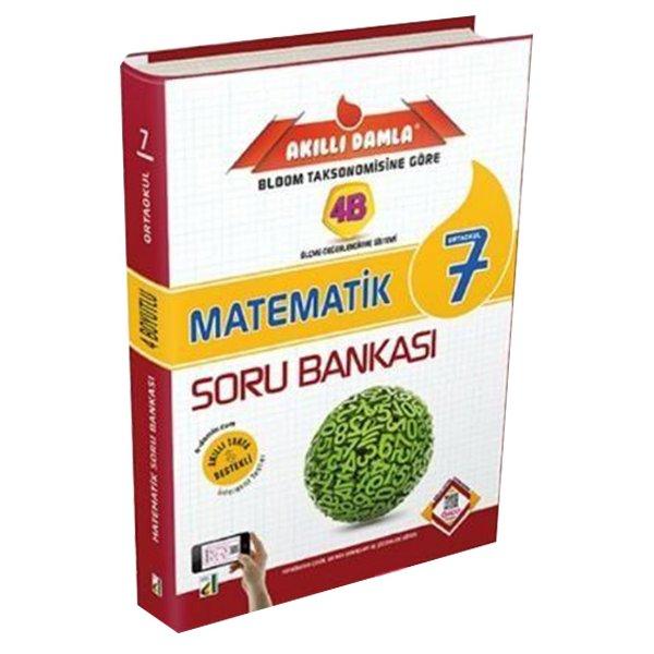 7. Sınıf 4B Matematik Soru Bankası Damla Yayınları