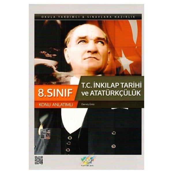 8. Sınıf T.C İnkılap Tarihi ve Atatürkçülük Konu Anlatımlı FDD Yayınları