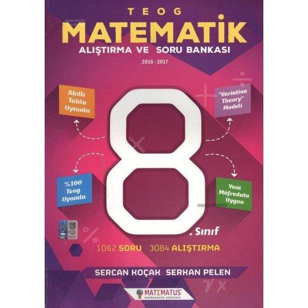 Matematus TEOG 8. Sınıf Matematik Alıştırma ve Soru Bankası