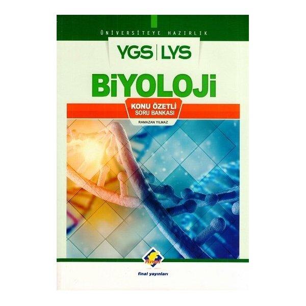 Final YGS LYS Biyoloji Konu Özetli Soru Bankası (Ramazan Yılmaz)