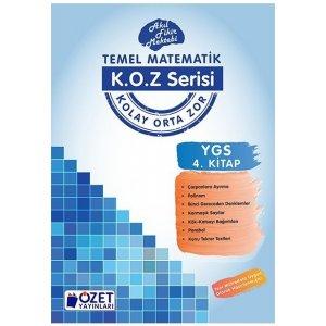 �zet Yay�nlar� YGS Matematik KOZ Serisi 4. Kitap