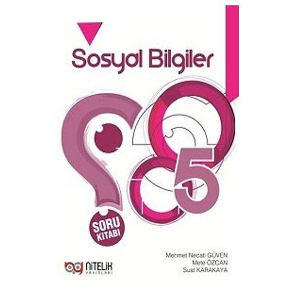 5. Sınıf Sosyal Bilgiler Soru Kitabı Nitelik Yayınları
