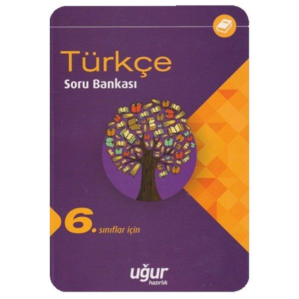 6. Sınıf Türkçe Soru Bankası Uğur Hazırlık Yayınları