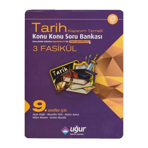 9. Sınıf Tarih Kazanım Temelli Konu Konu Soru Bankası Uğur Hazırlık Yayınları