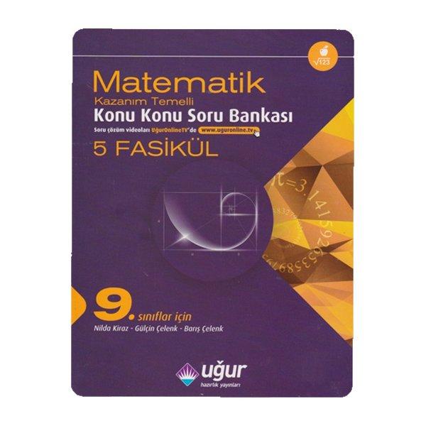 9. Sınıf Matematik Kazanım Temelli Konu Konu Soru Bankası Uğur Hazırlık Yayınları