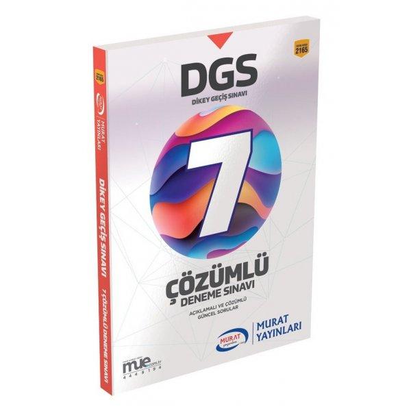 2020 DGS 7 Çözümlü Deneme Sınavı Murat Yayınları