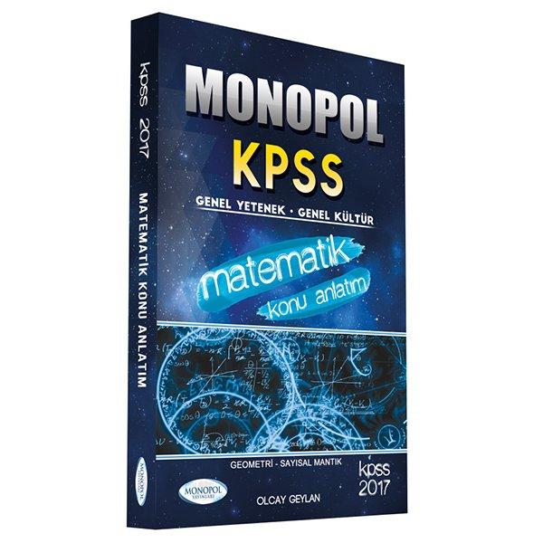 2017 KPSS Matematik Konu Anlatımlı Monopol Yayınları