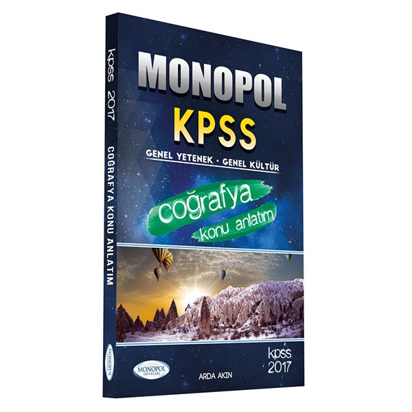 2017 KPSS Coğrafya Konu Anlatımlı Monopol Yayınları