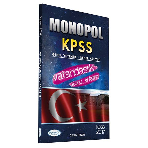 2017 KPSS Vatandaşlık Konu Anlatımlı Monopol Yayınları