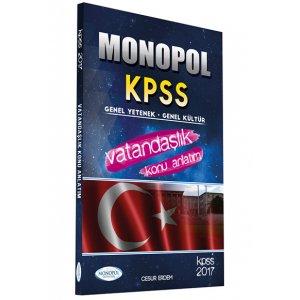2017 KPSS Vatanda�l�k Konu Anlat�ml� Monopol Yay�nlar�
