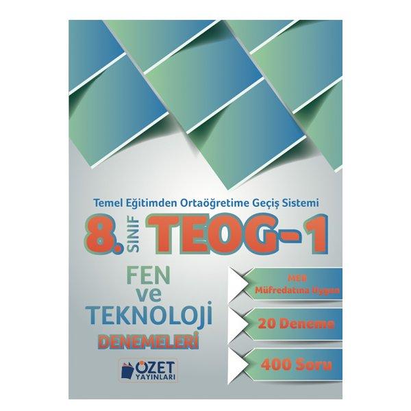8. Sınıf TEOG 1 Fen Bilimleri 20 Deneme Özet Yayınları