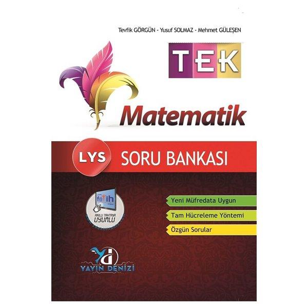 LYS Tek Matematik Soru Bankası Yayın Denizi Yayınları