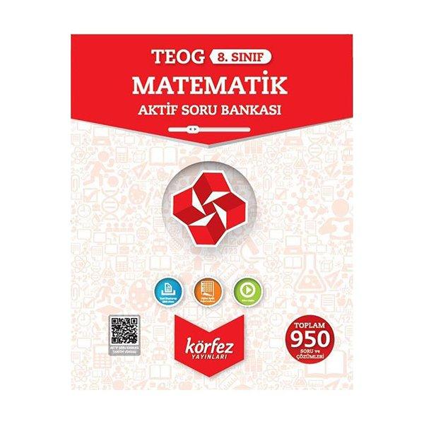 8. Sınıf TEOG Matematik Aktif Soru Bankası Körfez Yayınları