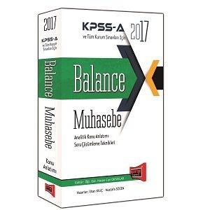 Yarg� Yay�nlar� 2017 KPSS-A Balance Muhasebe Analitik Konu Anlat�m�