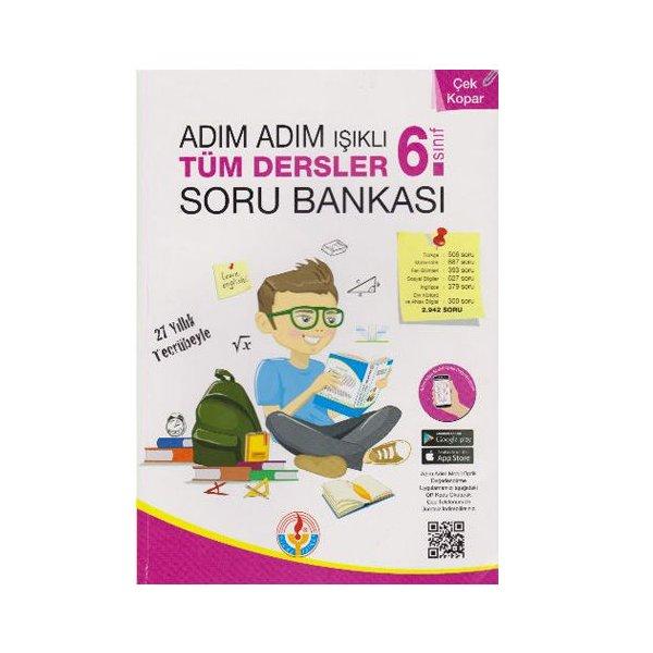 6. Sınıf Adım Adım Işıklı Tüm Dersler Soru Bankası Bilal Işıklı Yayınları