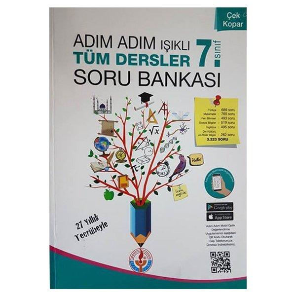 7. Sınıf Adım Adım Işıklı Tüm Dersler Soru Bankası Bilal Işıklı Yayınları