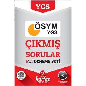 YGS ��km�� �SYM Sorular� 5 Deneme Seti (DVD ��z�ml�) K�rfez Yay�nlar�