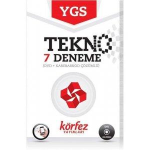 YGS Tekno 7 Deneme Seti (DVD ��z�ml�) K�rfez Yay�nlar�