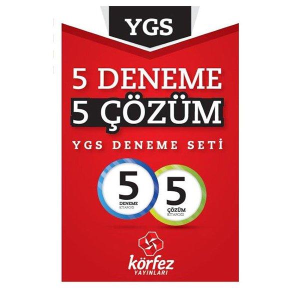 YGS 5 Deneme 5 Çözüm Deneme Seti Körfez Yayınları