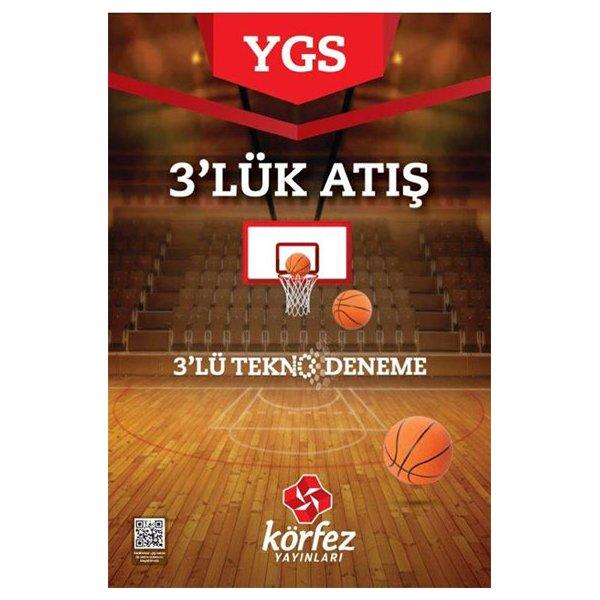 """YGS 3""""lü Tekno Deneme Körfez Yayınları"""