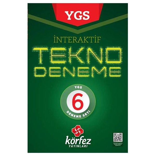 YGS İnteraktif Tekno 6 Deneme Seti Körfez Yayınları