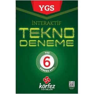 YGS �nteraktif Tekno 6 Deneme Seti K�rfez Yay�nlar�