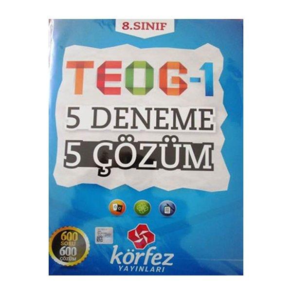 8. Sınıf TEOG-1 5 Deneme 5 Çözüm Körfez Yayınları