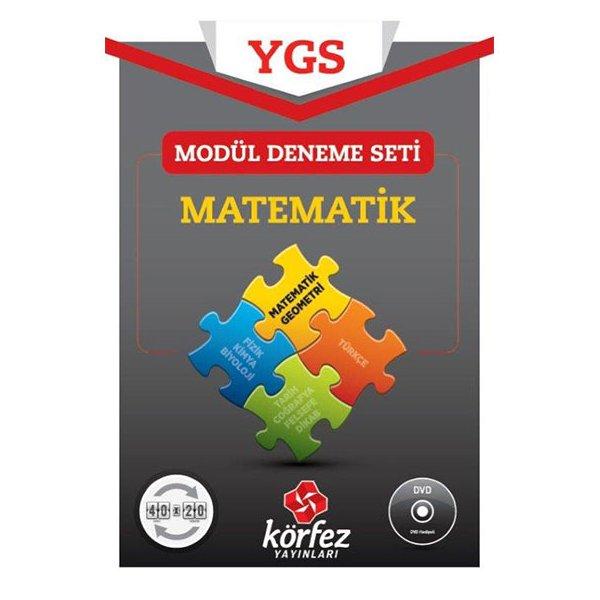 YGS Matematik 40x20 Modül Deneme Seti (DVD Çözümlü) Körfez Yayınları