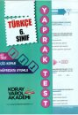 6. Sınıf Türkçe Yaprak Test Koray Varol Akademi