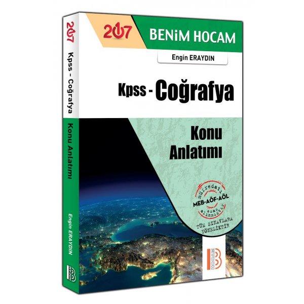 2017 KPSS Genel Kültür Coğrafya Konu Anlatımlı Kitap Engin Eraydın Benim Hocam Yayınları