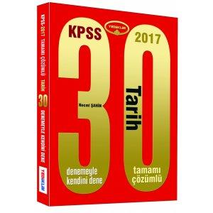2017 KPSS Tarih 30 ��z�ml� Deneme S�nav� Yediiklim Yay�nlar�