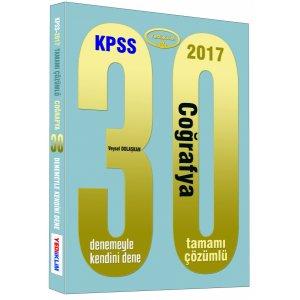 2017 KPSS Co�rafya 30 ��z�ml� Deneme S�nav� Yediiklim Yay�nlar�