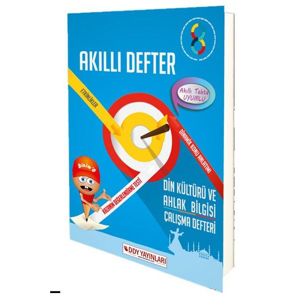 8. Sınıf Din Kültürü ve Ahlak Bilgisi Çalışma Defteri DDY Yayınları