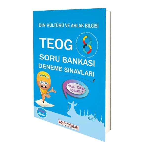 8. Sınıf TEOG Din Kültürü ve Ahlak Bilgisi Soru Bankası ve Deneme Sınavı DDY Yayınları