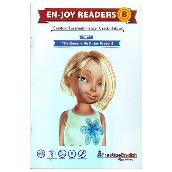 Enjoy Readers 8 10 Ünitenin Kazanımlarına Özel 10 Seçkin Hikaye Prestige English Yayınları