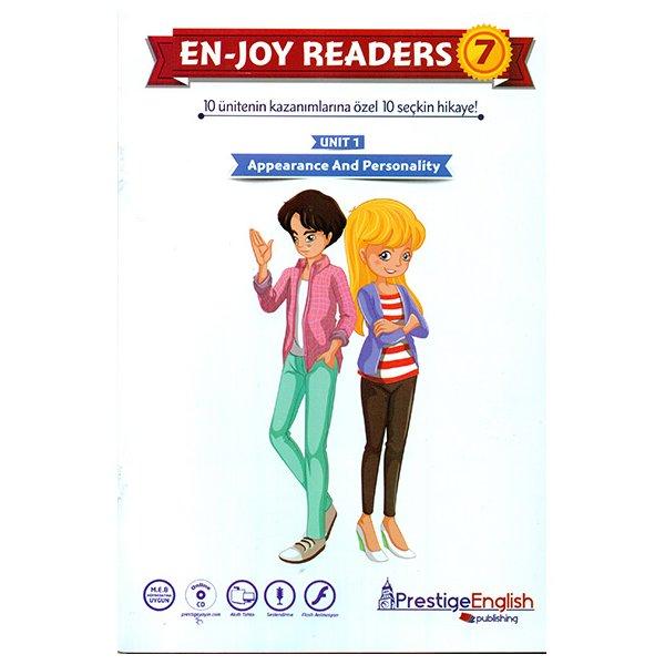 Enjoy Readers 7 10 Ünitenin Kazanımlarına Özel 10 Seçkin Hikaye Prestige English Yayınları