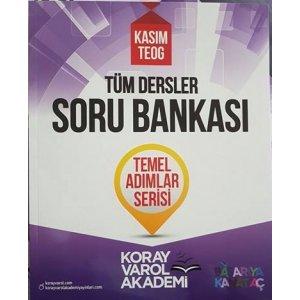 Koray Varol TEOG Kas�m T�m Dersler Soru Bankas� Temel Ad�mlar Serisi