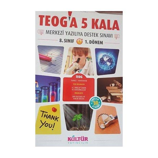 Kültür Yayınları 8. Sınıf TEOG a 5 Kala Merkezi Yazılıya Destek Sınavı 1. Dönem
