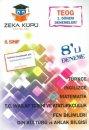 Zeka Küpü 8. Sınıf TEOG 1 8'li Deneme