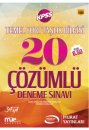 2017 KPSS Temel Yurtta�l�k ��z�ml� 20 Deneme S�nav� Murat Yay�nlar�