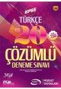 2017 KPSS Türkçe Çözümlü 20 Deneme Sınavı Murat Yayınları