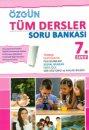 7. Sınıf Tüm Dersler Soru Bankası Özgün Yayınları
