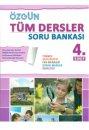 4. Sınıf Tüm Dersler Soru Bankası Özgün Yayınları