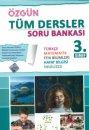 3. Sınıf Tüm Dersler Soru Bankası Özgün Yayınları