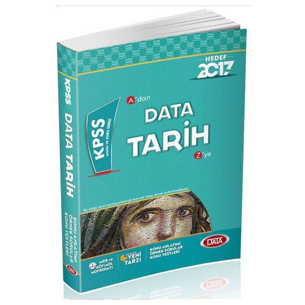 2017 KPSS A dan Z ye Tarih Konu Anlatımlı Data Yayınları